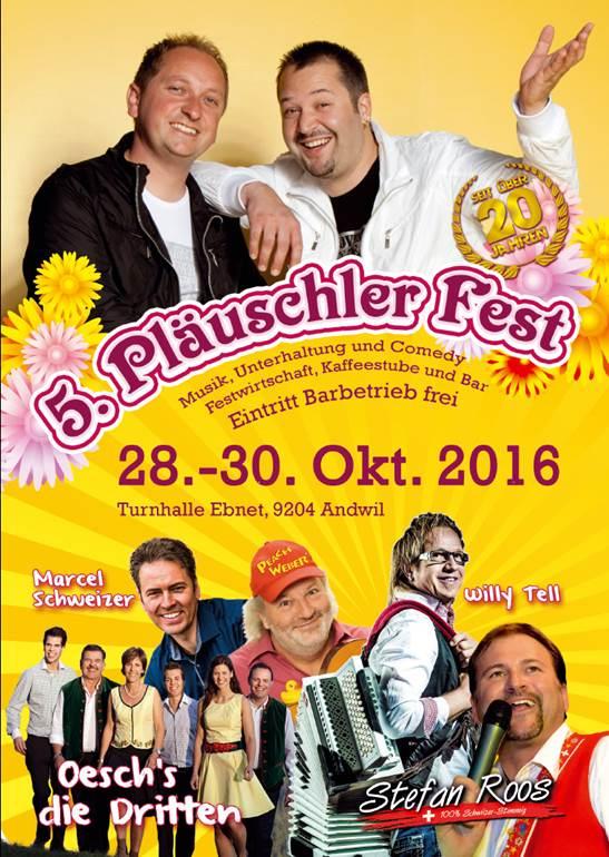 Pläuschler Fest 2016